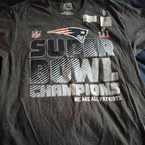New England Patriots Super Bowl LI champs shirt